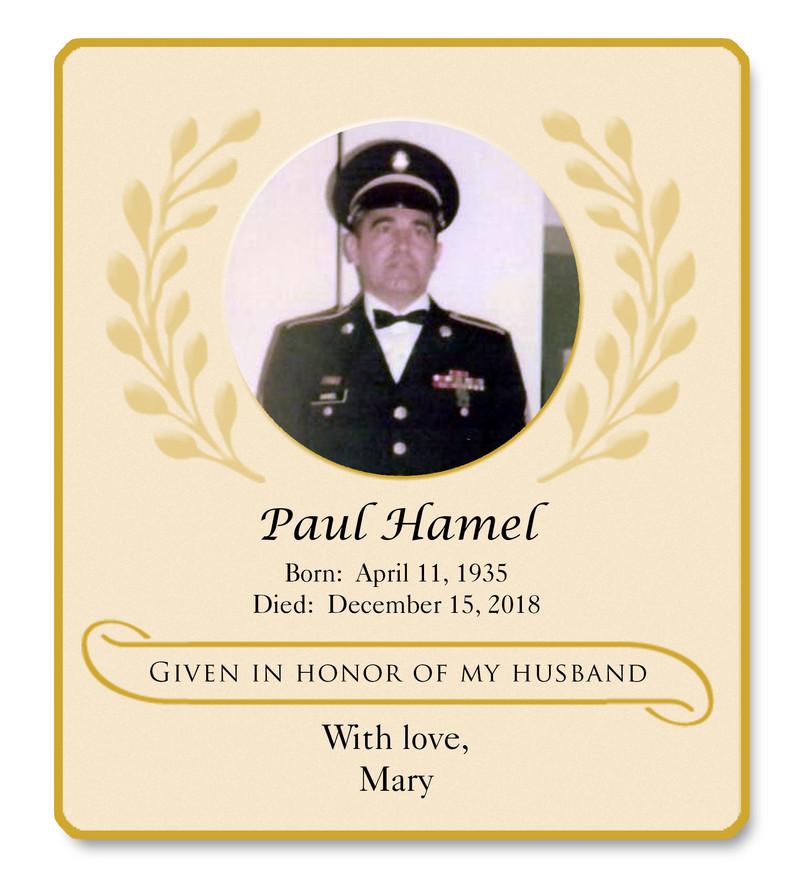 Hamel Paul Memorial