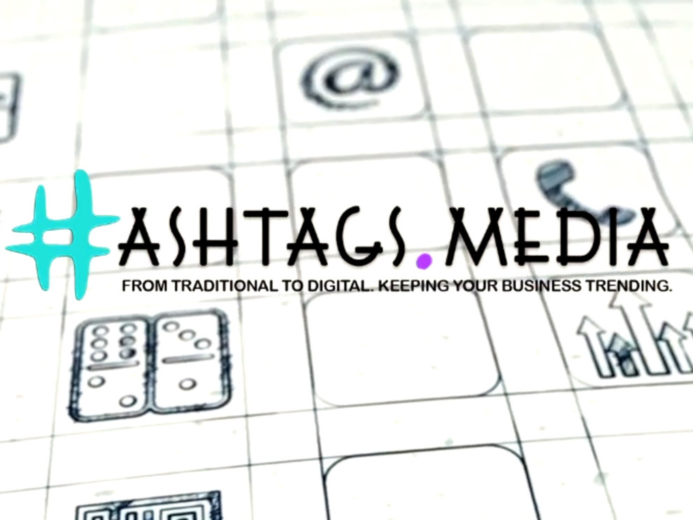 Hashtags Media Logo