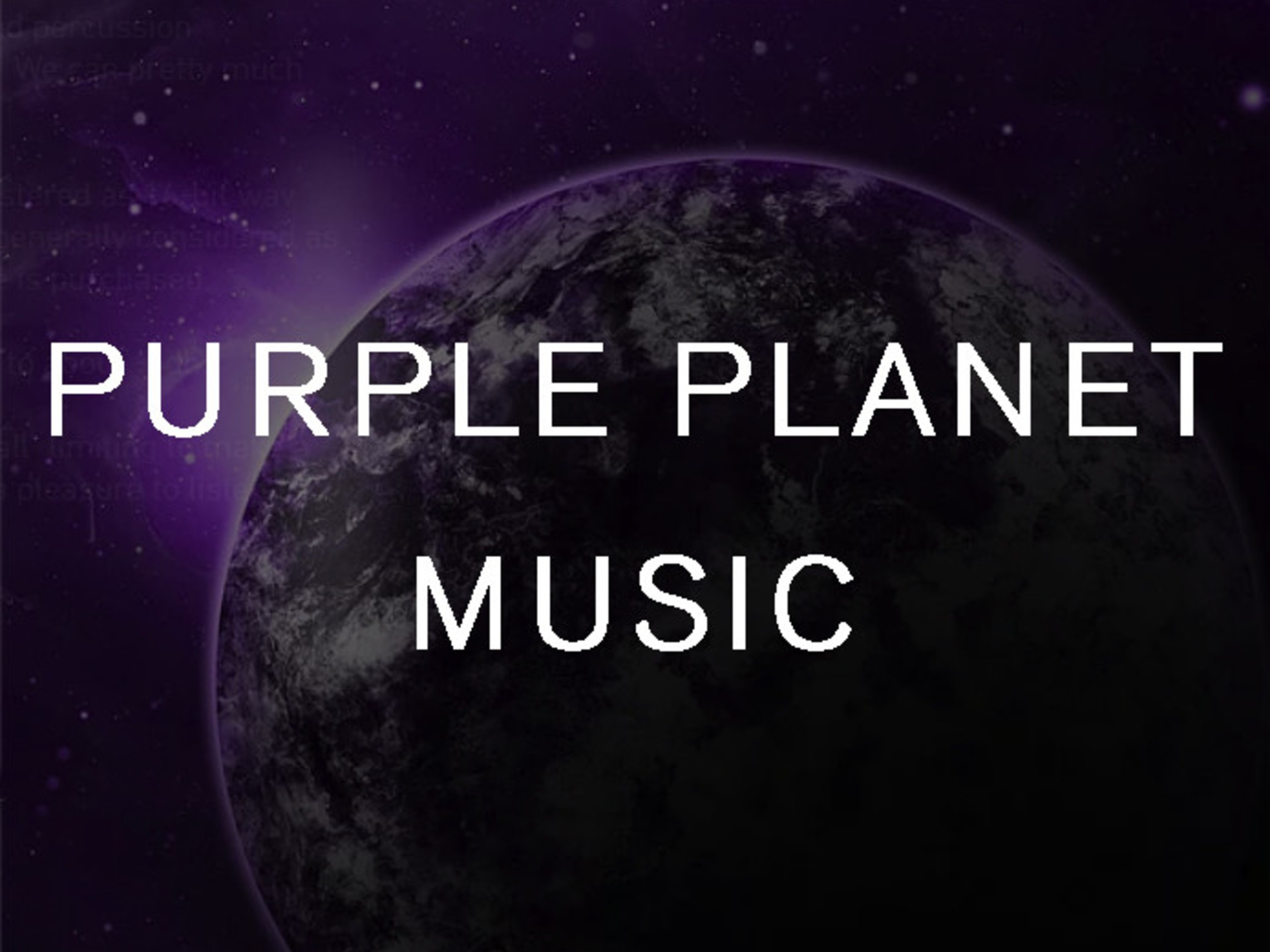 Purple Planet Music Logo